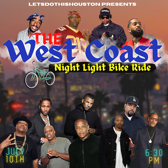 The West Coast Night Light Bike Ride