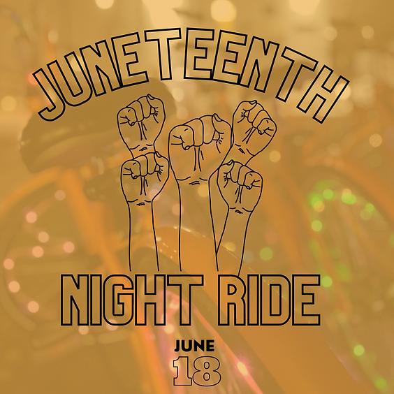 Juneteenth Night Light Bike Ride