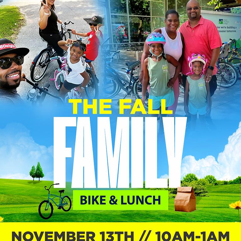 The Fall Familiy Bike & Lunch