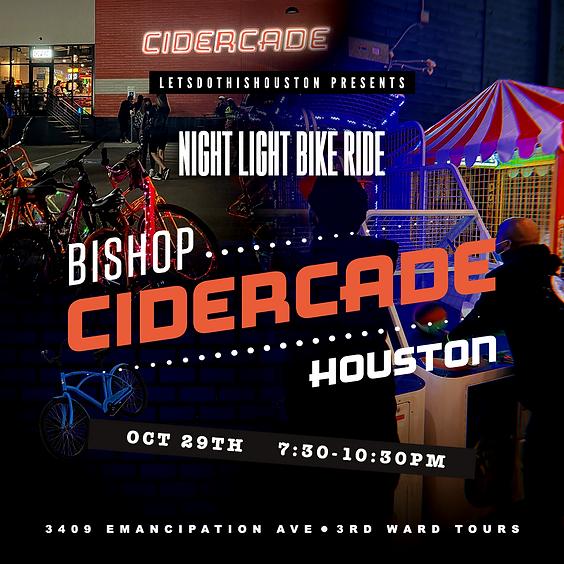 Night Light Bike Ride to Cidercade Houston