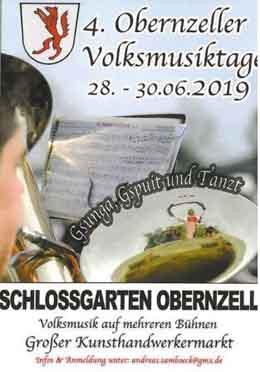 Obernzeller Volksmusiktage