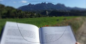 Imatge simulada de la visió que proporciona un progressiu de classe bàsica