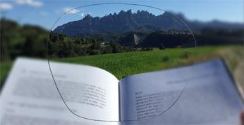 Imatge simulada de la visió que proporciona un progressiu de classe valor
