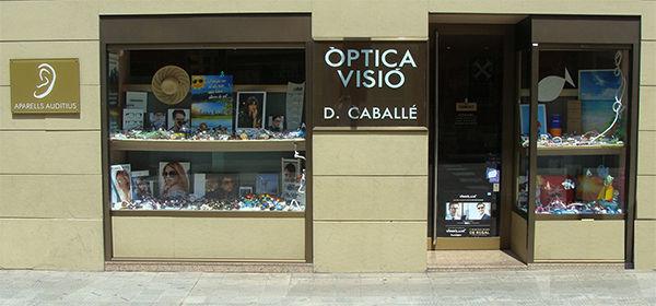 Foto façana Òptica Visió