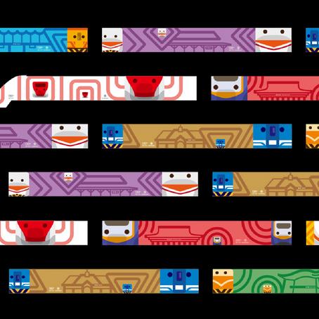 130普悠瑪 列車圖像設計