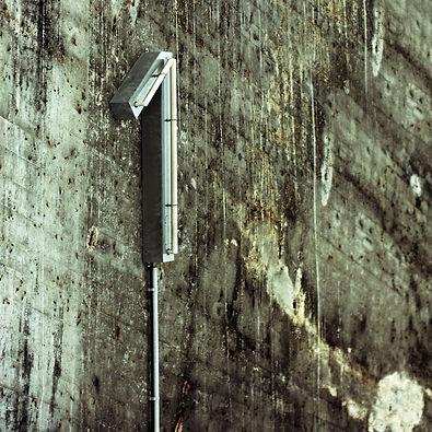 Mit Schimmelpilz befallene Wand