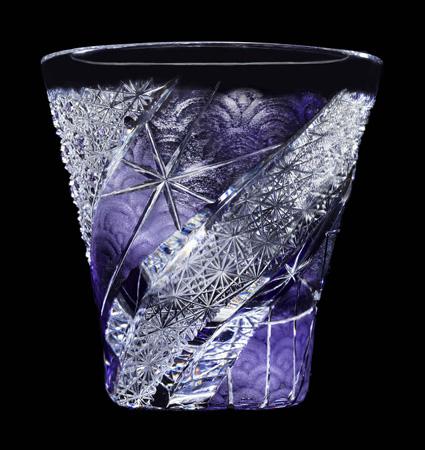 青海波 - ロックグラス