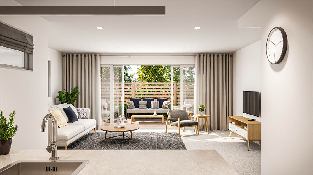 Parklands Lower Hutt interior render