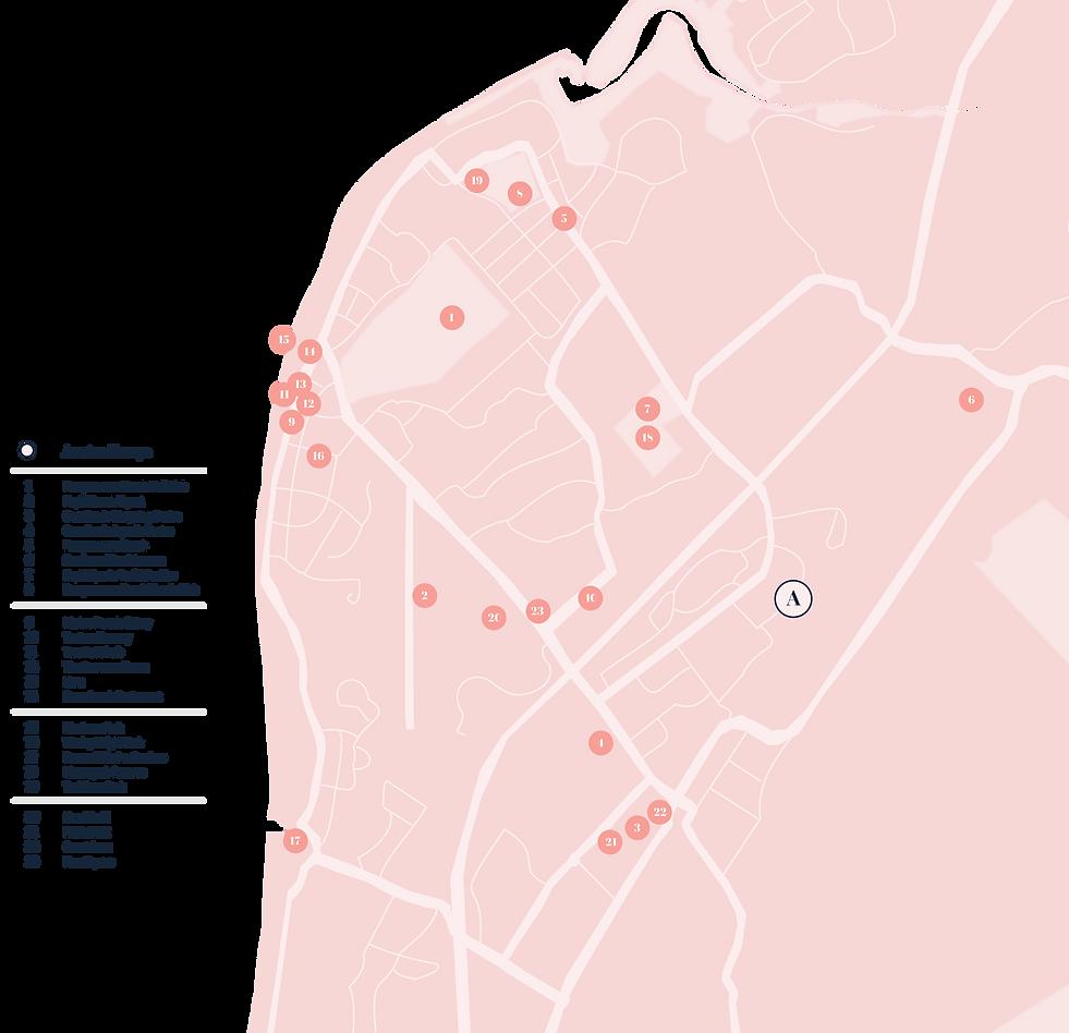 Awatea Escape Location Map