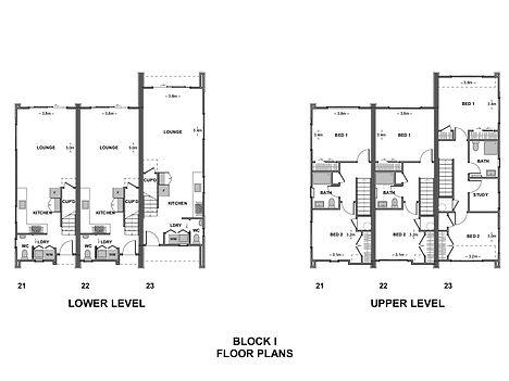 Parklands Block I Floor Plans