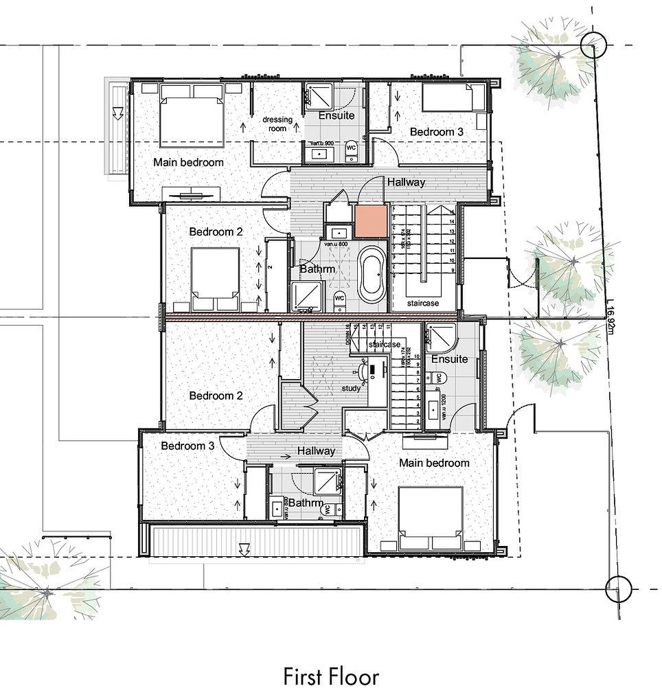Wai-iti Lane Units 4 & 5 Floor Plans - F