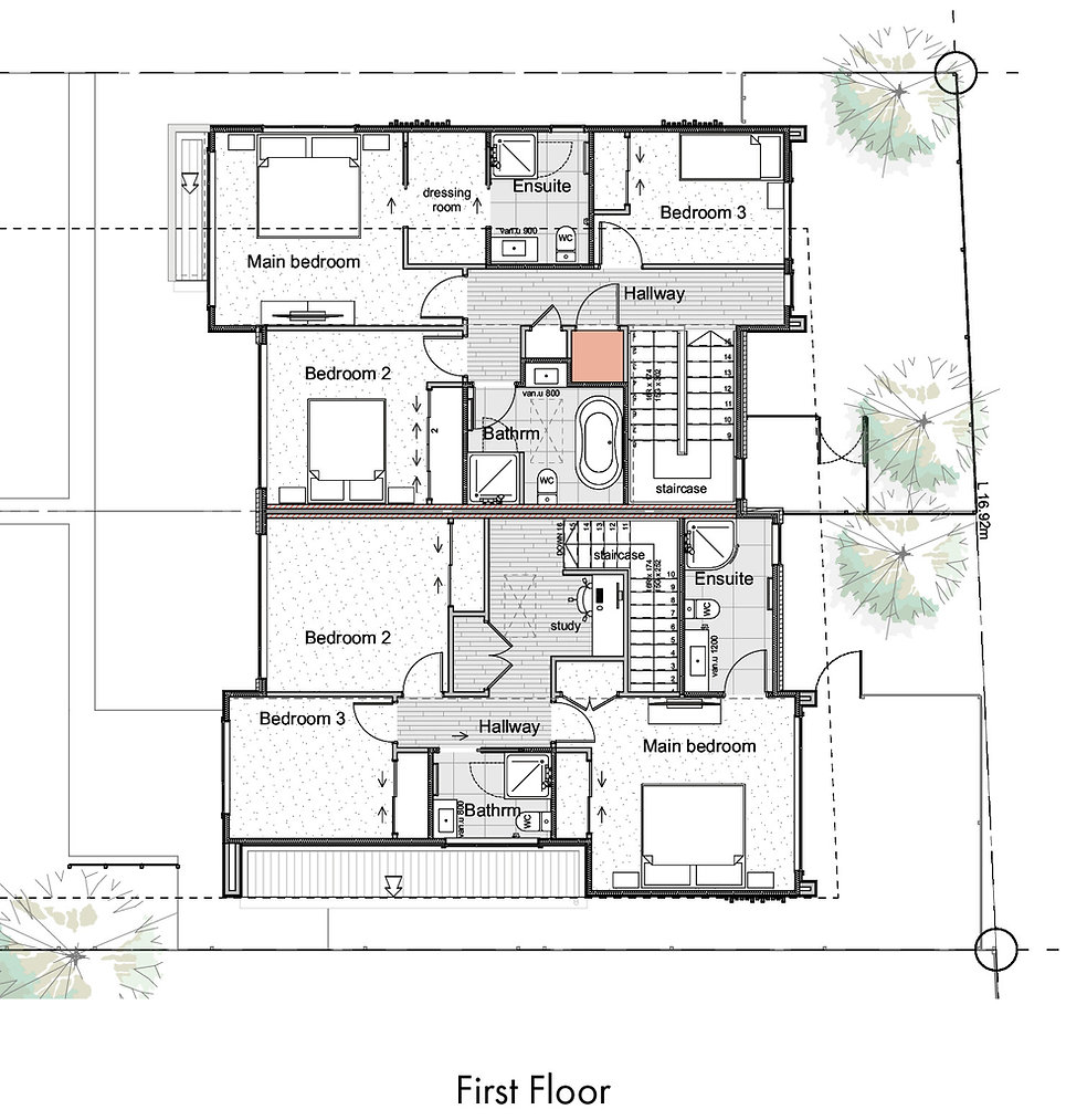 Wai-iti Lane Units 4 & 5 Floor Plans - F