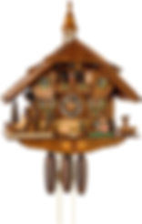 Cuckoo-Clock-8-day-movement-Chalet-Style