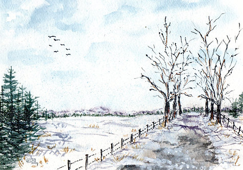 The Road Less Traveled, Winter's Respite