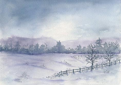 Cold Winter Sunrise
