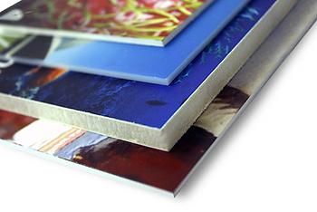 Pannelli supporti rigidi forex dibond kapa plexiglass