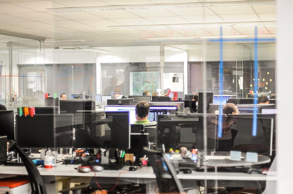 Office space for an Agile Team