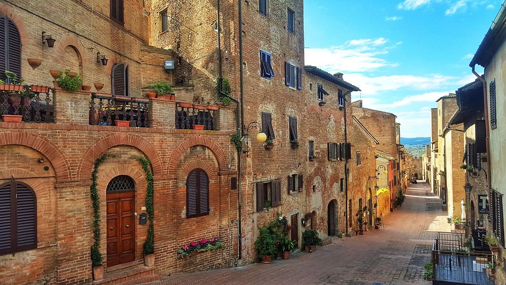 village in tuscany san miniato