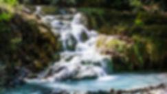 naural hot spring in tuscany