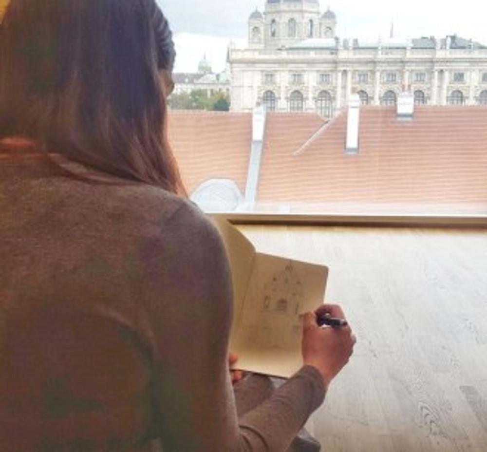 sketching in vienna