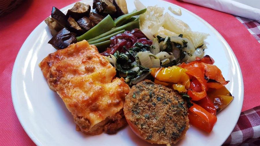 plate-of-italian-food-lasagna-vegetables