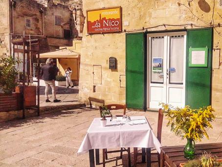 Ristorante Da Nico in Matera, Italy