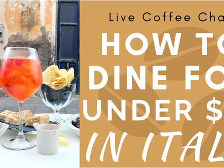 How to Dine for Under $10 in Italy