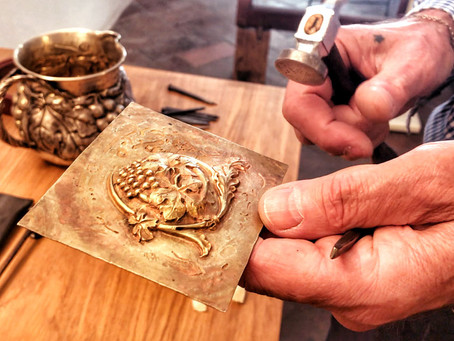 Locals in Italy: Meet Enzo, Metalsmith Artisan in Florence