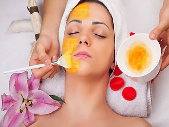 Enzyme Peel in Adelaide - Treatment Applied to Face