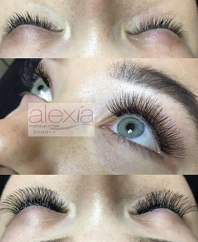 Party Lashes in Adelaide - Before and After