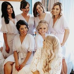 Bridesmaids Hair And Makeup San Diego