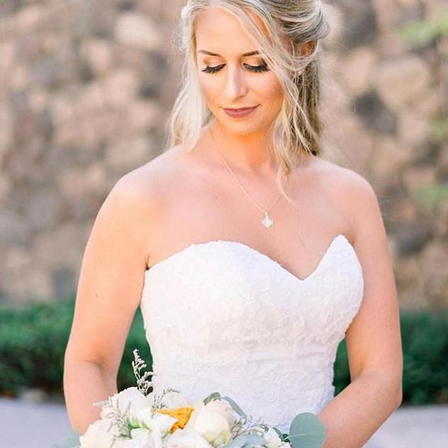 Flawless beauty! Hair and Makeup #bridal