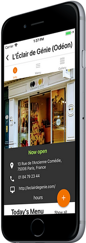 FoodHere, find restaurant dishes around you