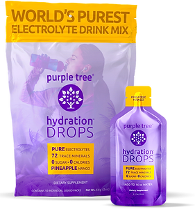 Electrolyte Hydration Drops by Purple Tree (Pineapple Mango)
