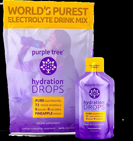 Electrolyte Hydration Drops by Purple Tree (Pineapple Mango)