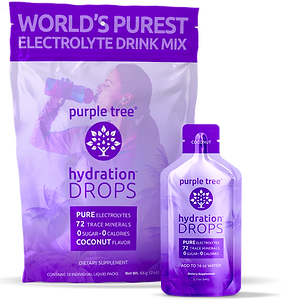 Electrolyte Hydration Drops by Purple Tree (Coconut)