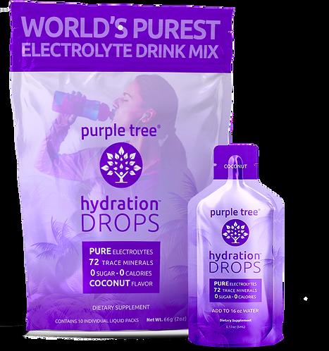 Electrolyte Hydration Drops by Purple Tree (Coconut)