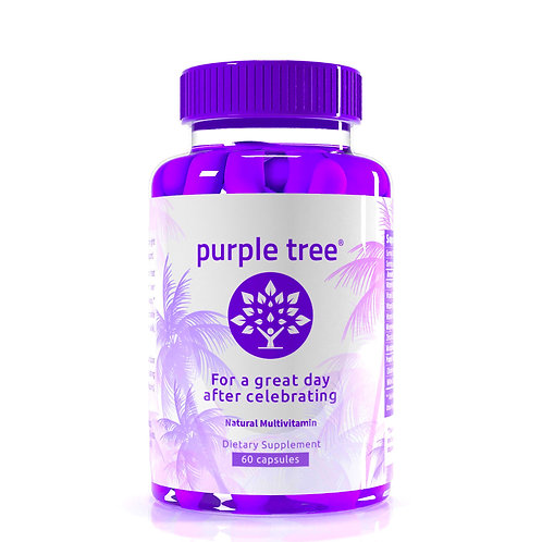 Purple Tree 2X Celebration Vitamin Pills (60 capsules)