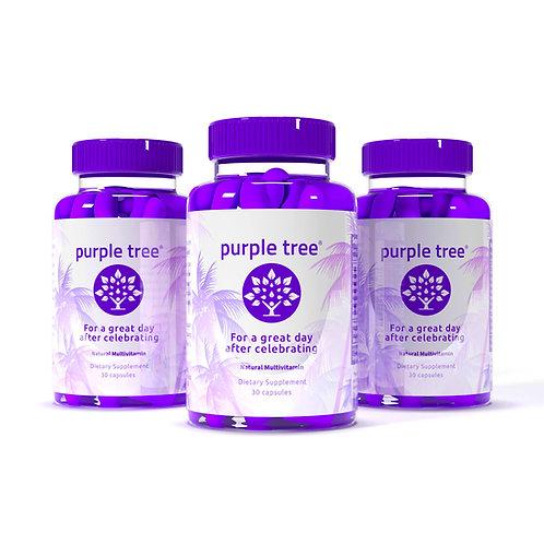 Purple Tree 5X Celebration Vitamin Pills (5 Bottles / 150 capsules)