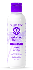 Electrolyte Hydration Drops by Purple Tree