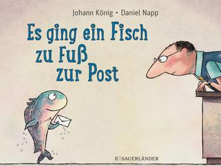 Johann König mit erstem Bilderbuch