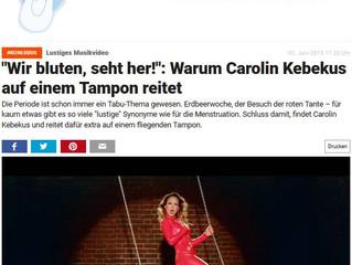 Carolin Kebekus' Ode an die Periode