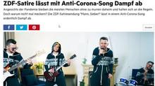 """ZDF-Satire lässt mit Anti-Corona-Song Dampf ab"""