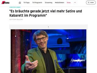 """Christoph Siebers Einstand bei den WDR """"Mitternachtsspitzen"""""""