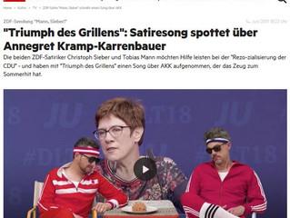 """""""Mann, Sieber!"""" hilft bei der Rezo-zialisierung der CDU"""