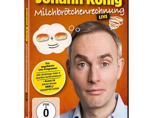 """Johann König live: """"Milchbrötchenrechnung"""" jetzt auf DVD"""