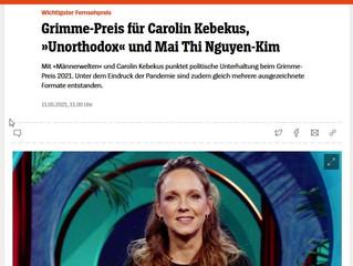 """""""Grimme-Preis"""" für """"Brennpunkt"""" Rassismus aus der """"Carolin Kebekus Show"""""""