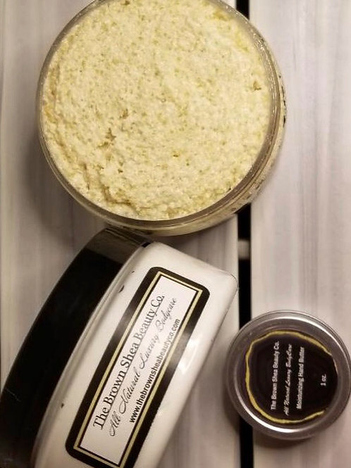 8 oz Lavender Vanilla Suga Butter Body Polish