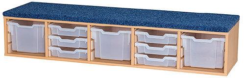 Classroom Step - includes  3 x Extra Deep & 6 x Shallow Trays