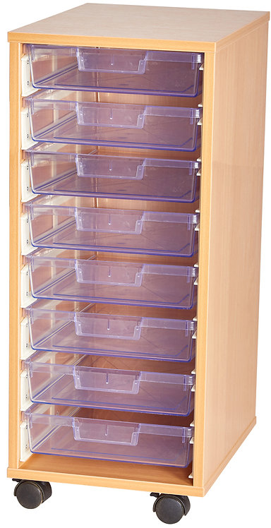 Crystal Clear 8 Tray Single